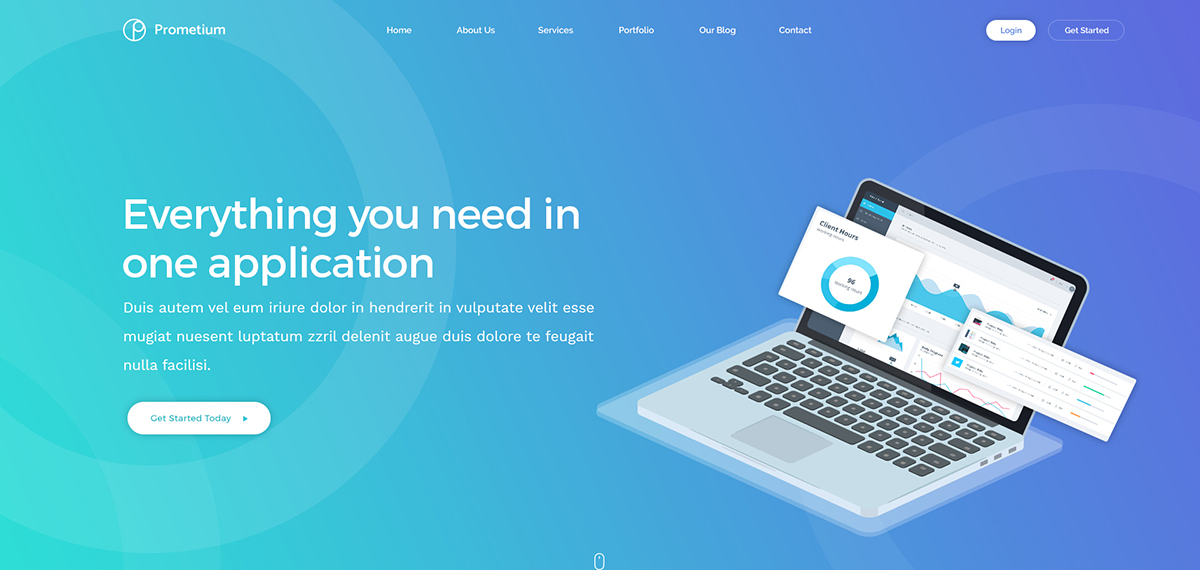 Prometium – Multi-Purpose WordPress Template